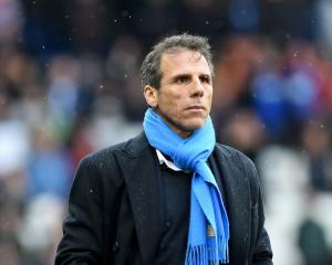Gianfranco Zola resigns as Birmingham manager after home loss to Burton