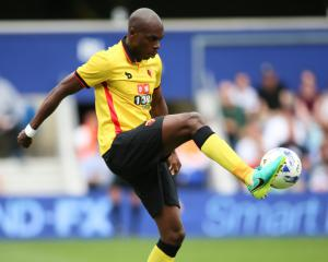 Allan Nyom agrees new four-year deal with Watford
