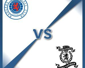 Rangers V Livingston at Ibrox Stadium : Match Preview