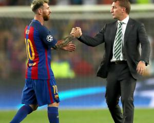 Lionel Messi's record breaking sixth Champions League hat-trick sinks sorry Celtic