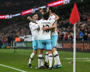 Andy Carroll praises West Ham's 'fantastic' morale