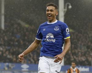 Dominic Calvert-Lewin talks up Everton team-mate Romelu Lukaku