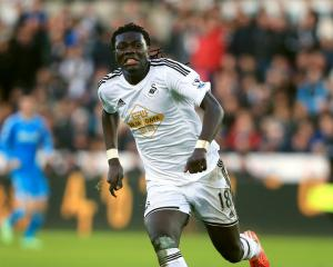 Gomis injury blow for Swans