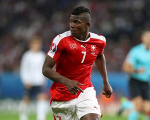 Switzerland forward Breel Embolo signs for Schalke