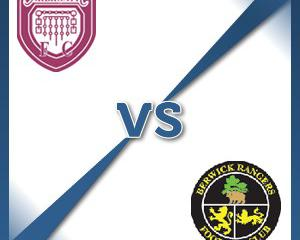 Arbroath V Berwick at Gayfield Park : Match Preview