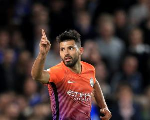 Pep Guardiola impressed with Sergio Aguero's response to losing his place