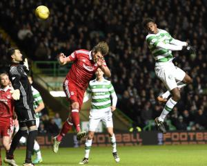 Dedryck Boyata header sees Celtic beat Aberdeen and move 25 points clear
