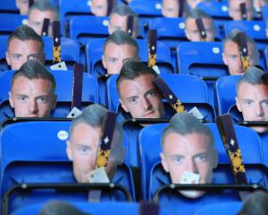 Leicester fans given Jamie Vardy masks as forward starts three-match ban