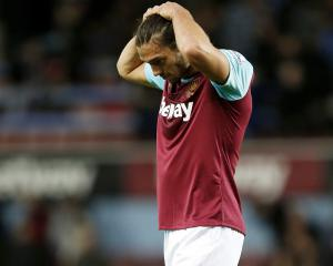 West Ham boss Slaven Bilic: Andy Carroll facing up to six weeks on sidelines