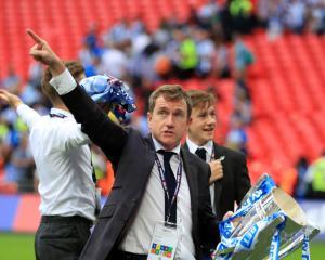 Huddersfield chairman Dean Hoyle hails 'unbelievable' promotion
