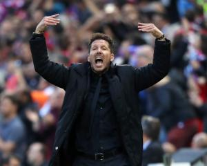 Diego Simeone proud of his Atletico Madrid players despite Champions League exit