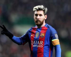 Barcelona unconvincing but Lionel Messi double secures win