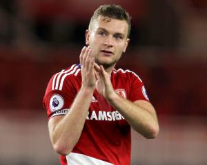 Boro defender Gibson: It was a 'dream' to link up with England squad