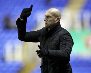 Jaap Stam urges Reading fans to temper expectations after home defeat to QPR