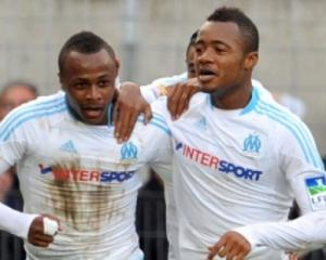 Ayew brothers on target for Marseille