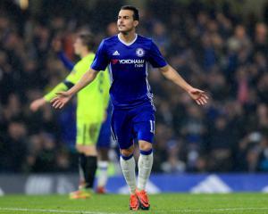 Batshuayi hits double but Pedro injured in Chelsea win