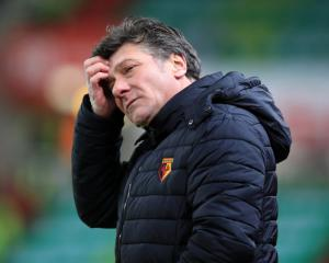 Watford coach Walter Mazzarri not worried about the sack after another defeat