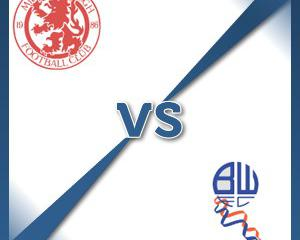 Middlesbrough V Bolton at Riverside Stadium : Match Preview