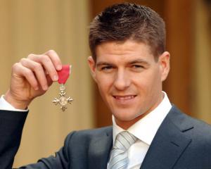 Steven Gerrard's Roll of Honour