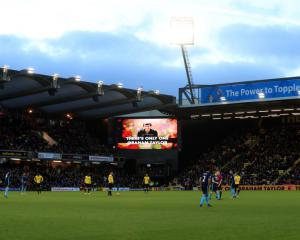 Tributes and tears for Graham Taylor at Watford's Vicarage Road