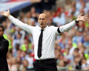 Sir John Madejski confident manager Jaap Stam will stay with Reading