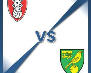 Rotherham V Norwich at AESSEAL New York Stadium : Match Preview