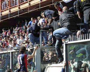 Genoa to play final home games behind closed doors