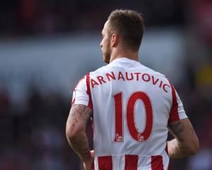 Stoke reject West Ham's bid for Marko Arnautovic