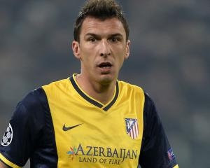 Mandzukic having Juve medical