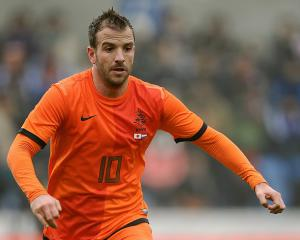 Van der Vaart blow for Hamburg