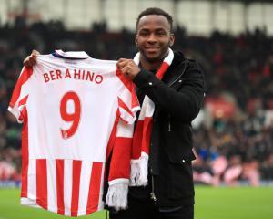 Stoke boss Mark Hughes set to pick Saido Berahino against former club West Brom