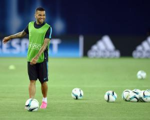 Dani Alves targeting Champions League success with Juventus