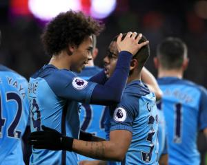 Pep Guardiola sees bright future for Manchester City in young strikeforce