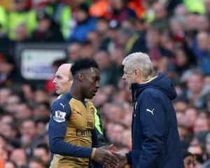 Arsene Wenger pleased to have Danny Welback back in contention for Arsenal