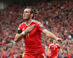 Gareth Bale named Welsh player of the year