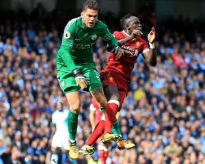 Manchester City goalkeeper Ederson accepts apology from Liverpool's Sadio Mane