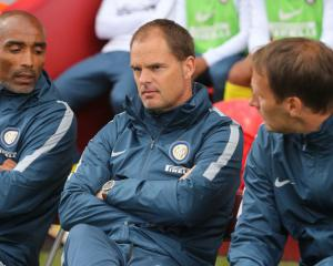 Frank de Boer sacked by Inter Milan