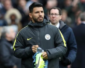 Aguero vows to fight for place as Man City assure striker has Etihad future