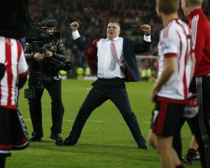 Saviour Sam: Allerdyce's Sunderland beat the drop ahead of rivals