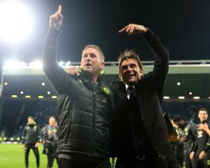 Antonio Conte lauds Chelsea after wrapping up title at West Brom