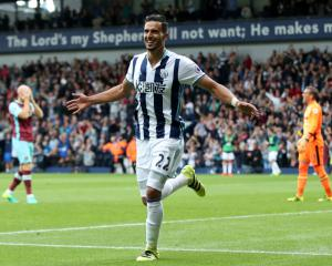 Midfielder Nacer Chadli has impressed West Brom boss Tony Pulis