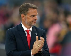 Under-pressure De Boer positive about Palace future