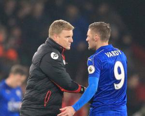 Eddie Howe impressed by Craig Shakespeare at Leicester