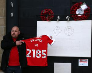 Tributes at Charlton match for Westminster terror attack victim PC Keith Palmer