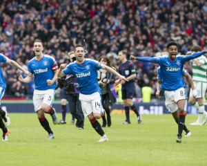 Rangers edge Celtic on penalties to reach Scottish Cup final