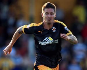 Barry Corr released by Cambridge United