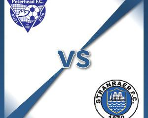 Peterhead V Stranraer at Balmoor Stadium : Match Preview