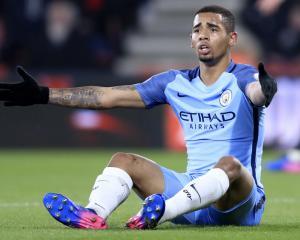 Manchester City forward Gabriel Jesus returns to training