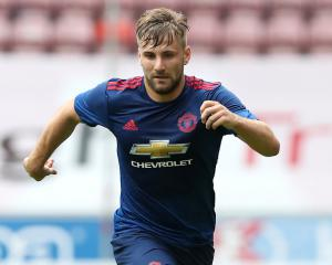 Luke Shaw: I just want to push on and get fully fit