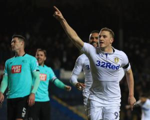 Chris Wood goal sees Leeds beat Derby and climb to third in Sky Bet Championship